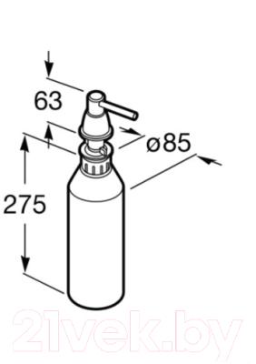 Дозатор жидкого мыла Roca A815494001