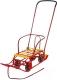 Санки-коляска Ника Тимка 5 Универсал / Т5У (красный) -