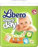 Подгузники Libero Everyday Midi 3 (22шт) -