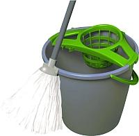 Набор для уборки пола York Set с круглым ведром (10л) -