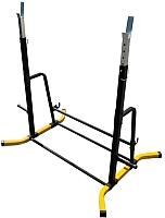Подставка для штанги Формула здоровья Дельта-02 (желтый/черный) -