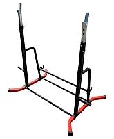 Подставка для штанги Формула здоровья Дельта-02 (красный/черный) -
