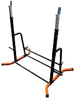 Подставка для штанги Формула здоровья Дельта-02 (оранжевый/черный) -