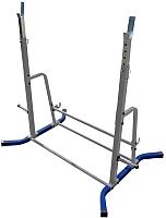 Подставка для штанги Формула здоровья Дельта-02 (синий/серебристый) -