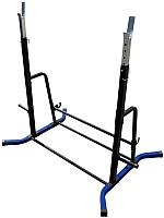 Подставка для штанги Формула здоровья Дельта-02 (синий/черный) -