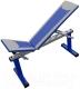 Скамья многофункциональная Формула здоровья Дельта-01 (синий/серебристый) -