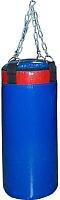 Боксерский мешок Русский бокс BM03-90x30 (синий) -
