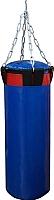 Боксерский мешок Русский бокс BM02-90x30 (синий) -