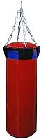 Боксерский мешок Русский бокс BM02-80x30 (красный) -