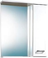 Шкаф с зеркалом для ванной Акваль Ника 60 (AN.04.60.00.R) -