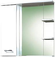 Шкаф с зеркалом для ванной Акваль Ника 70 (AN.04.70.00.L) -