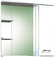 Шкаф с зеркалом для ванной Акваль Ника 70 (AN.04.70.00.R) -