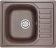 Мойка кухонная Granula GR-5801 (эспрессо) -