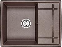 Мойка кухонная Granula GR-6501 (эспрессо) -