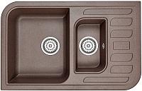 Мойка кухонная Granula GR-7803 (эспрессо) -