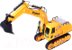 Радиоуправляемая игрушка Cheetah Toys Экскаватор 8060E -