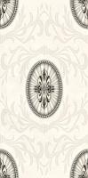 Декоративная плитка для ванной Березакерамика Березакерамика Грация 1 белая (300x600) -