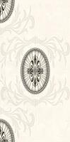 Декоративная плитка для ванной Березакерамика Березакерамика Грация 2 белая (300x600) -
