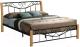 Двуспальная кровать Signal Parma 160x200 (дуб) -
