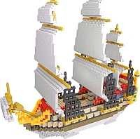 Микроконструктор YZ-Diamond Sailing Ship (66501) -