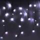 Светодиодная бахрома Luazon Бахрома 706198 (1.2x0.6м, белый) -