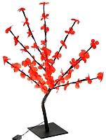 Светодиодное дерево Luazon Цветок сакуры 1077267 (красный) -