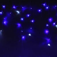 Светодиодная бахрома Luazon Бахрома 1080415 (2.4x0.6м, сине-белый) -