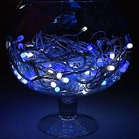 Светодиодная гирлянда Luazon Метраж уличная 1080549 (10м, бело-синий) -