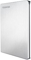 Внешний жесткий диск Toshiba Stor.E Slim Silver 1TB (HDTD210ES3EA) -
