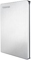 Внешний жесткий диск Toshiba Stor.E Slim for Mac 1TB Silver (HDTD210ESMEA) -
