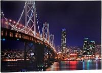 Картина Bradex Огни мегаполиса TD 0317 (с подсветкой) -