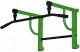 Турник Формула здоровья Титан-450-1 (зеленый/черный) -