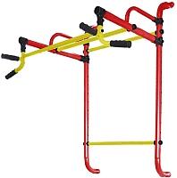 Турник Формула здоровья Континент-450-4 (красный/желтый) -