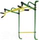 Турник Формула здоровья Континент-450-4 (зеленый/желтый) -