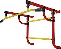 Турник Формула здоровья Геракл-450-1 (красный/желтый) -