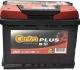 Автомобильный аккумулятор Centra Plus CB621 (62 А/ч) -