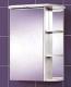 Шкаф с зеркалом для ванной Акваль Эмили 55 (AL.04.55.00.L) -