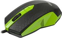 Мышь Ritmix ROM-202 (черный/зеленый) -