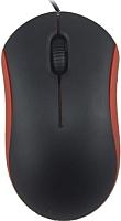 Мышь Ritmix ROM-111 (черный/красный) -