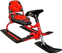 Снегокат детский Барс Comfort Soft (красный) -