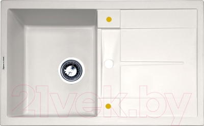 Мойка кухонная Zigmund & Shtain Rechteck 780 (индийская ваниль)