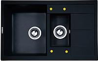 Мойка кухонная Zigmund & Shtain Rechteck 780.2 (темная скала) -