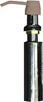 Дозатор встраиваемый в мойку Zigmund & Shtain ZS A001 (речной песок) -