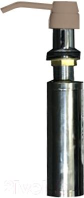 Дозатор встраиваемый в мойку Zigmund & Shtain ZS A001 (речной песок)