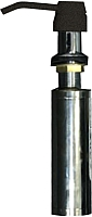 Дозатор встраиваемый в мойку Zigmund & Shtain ZS A001 (черный базальт) -