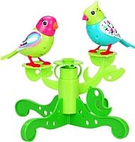 Интерактивная игрушка Silverlit Две птички с деревом 88237S -