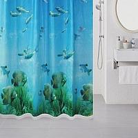 Текстильная шторка для ванной Milardo 518V180M11 -