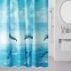 Текстильная шторка для ванной Milardo 519V180M11 -