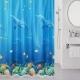 Текстильная шторка для ванной Milardo 520V180M11 -
