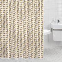 Текстильная шторка для ванной Milardo 700P180M11 -